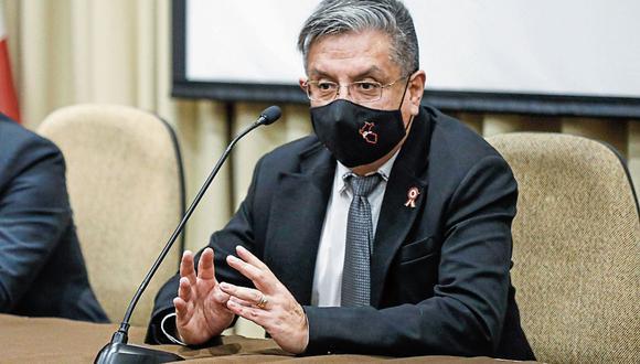 Ministro Iván Merino. (Foto: Minem | Difusión)