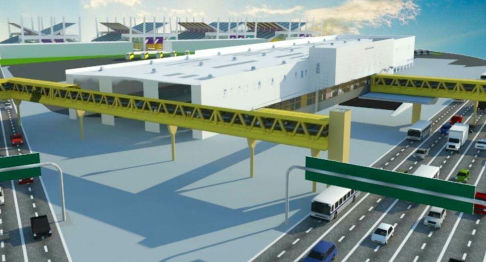Maqueta del futuro parque industrial de Ancón (foto: USI).