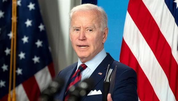 Joe Biden. (Foto: EFE/EPA/Leigh Vogel).