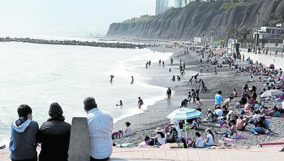 Recorrido por las playas de la Costa Verde, personas aprovechan la ausencia de autos para realizar actividades deportivas. (Foto: GEC)