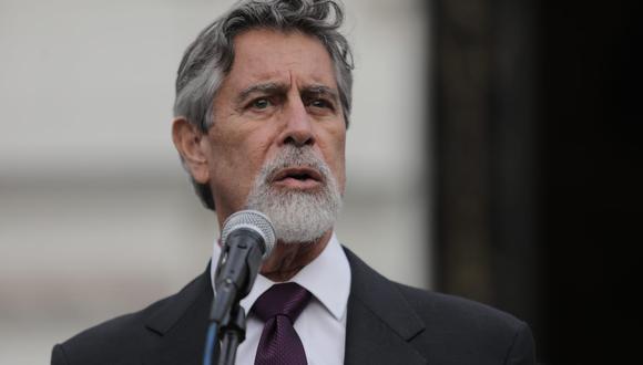 Francisco Sagasti asumió la presidencia de la República hace una semana. (Foto: GEC)