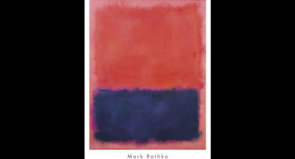 FOTO 7 |Untitled de Mark Rothko, US$ 50 millones. Creada en 1960 y vendida en Sotheby's. (Foto: Art)