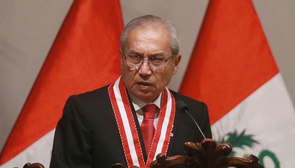 El fiscal de la Nación, Pedro Chávarry, ha sido vinculado a Los Cuellos Blancos del Puerto por colaboradores eficaces. (Foto: Andina)