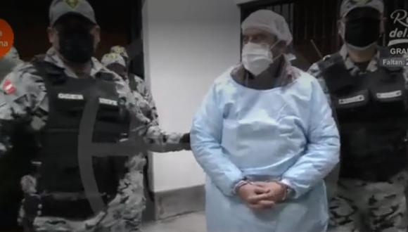 Vladimiro Montesinos permanecía recluido en la Base Naval del Callao, donde cumplió su condena de 25 años de prisión. (Captura: América Noticias)