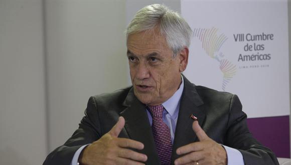 Sebastián Piñera. (Foto: Alonso Chero).