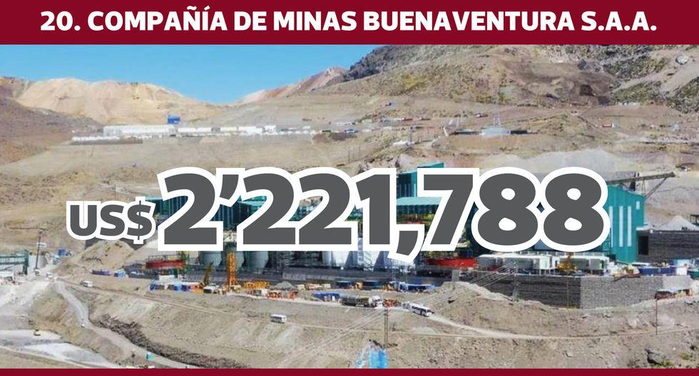 FOTO 21 | 20. COMPAÑÍA DE MINAS BUENAVENTURA S.A.A.