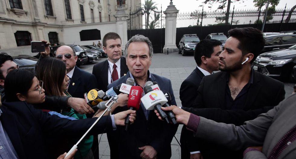 Francisco Petrozzi ha señalado que la salida de Hugo Coya del cargo fue una decisión suya. (Foto: GEC)