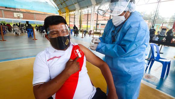 Cusco, Tumbes e Ica se sumaron a la segunda vacunatón contra el COVID-19, el último fin de semana. (Foto: Geresa Cusco)