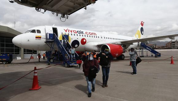 Latam, Sky Airline y Viva Air han retomado los vuelos nacionales. (Foto: Jesús Saucedo / GEC)