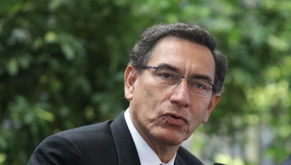 El presidente Martín Vizcarra. (Foto: Presidencia de la República)