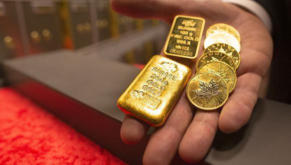 Los futuros del oro en Estados Unidos bajaban un 0.3%, a US$ 1,900.50. (Foto: AFP)