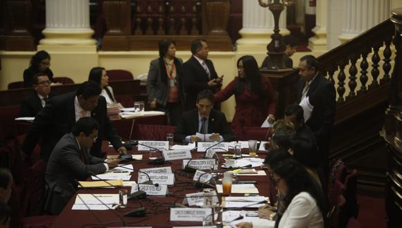Comisión de Fiscalización aprobó un proyecto de ley que busca supervisar los convenios entre instituciones públicas y organizaciones como OIM,PNUD y UNOPS (Foto: Mario Zapata)