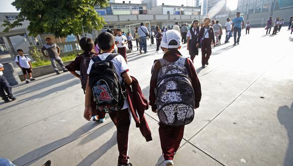 Los precios de la división de consumo Educación subieron 0.40% por el efecto estacional de la temporada escolar, indicó el INEI.