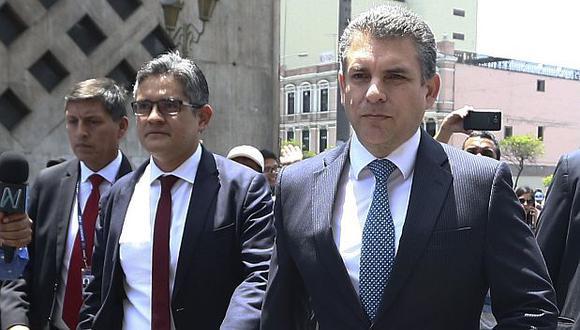 Rafael Vela y José Domingo Pérez viajaron este lunes a Estados Unidos. (Foto: Alessandro Currarino / GEC)