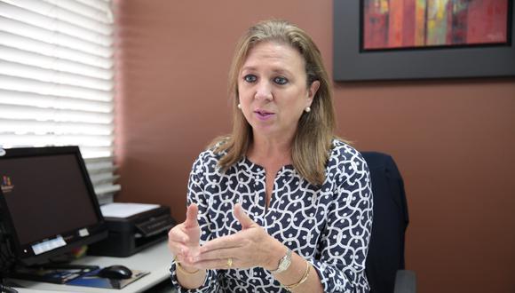 María Isabel León, presidenta de la Confiep. (Foto: GEC)
