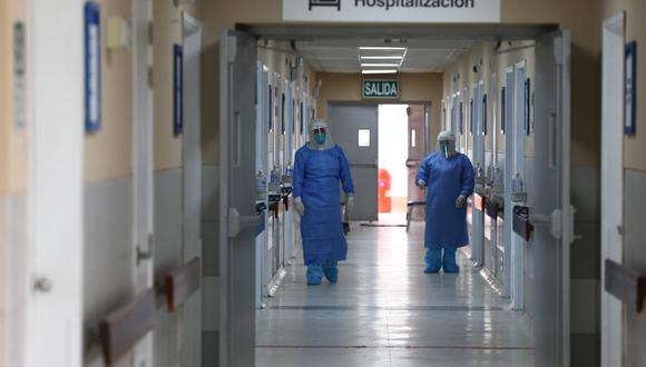 UCI para pacientes graves por el coronavirus. (Foto: Fernando Sangama / GEC)