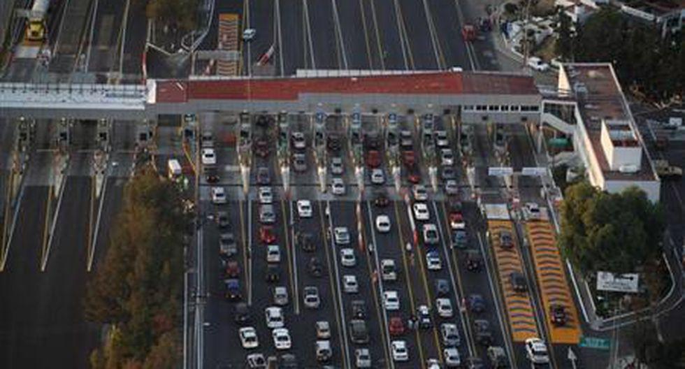 Caos vehicular en Ciudad de México. (Fuente: Agencia Reuters)