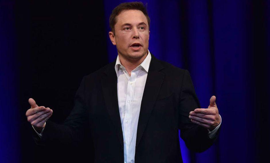 FOTO 9 | Elon Musk. A la cabeza de Tesla y SpaceX, Musk es uno los mayores revolucionarios del mercado. Hace poco lanzó uno de sus autos al espacio, y el extravagante empresario parece que no se detendrá. (Foto: AFP)