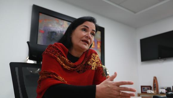 ventas.Empresa en mercado local , ya logró en el primer trimestre del año recuperar facturación prepandemia, dijo Maricarmen Fedalto. FOTO: LINO CHIPANA OBREGÓN