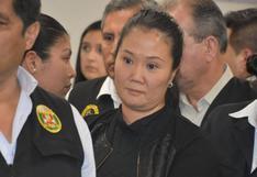 Keiko Fujimori presentó problemas de salud en Penal Anexo de Chorrillos