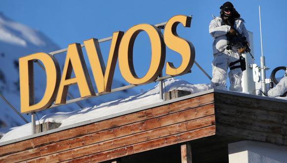 Davos. (Foto: Reuters)