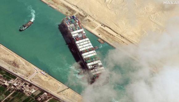 Canal de Suez. (Foto: Getty Images)