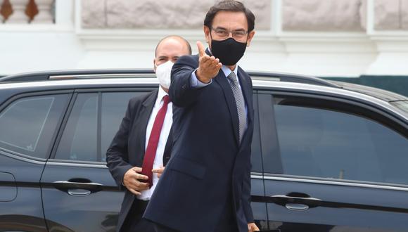 Comisión de Fiscalización aprueba informe que involucra al expresidente Martín Vizcarra. (Foto: GEC)