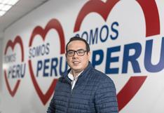 """Somos Perú: """"Con Perú Libre solo tenemos alianza en temas de economía, salud y educación"""""""