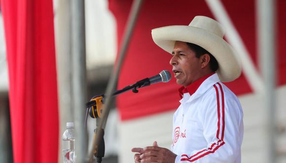 Oferta. El candidato Pedro Castillo indicó que su eventual gobierno traerá 20 millones de vacunas rusas. (Foto: Andina)