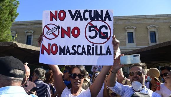 El movimiento antivacuna convierte los hechos en una realidad distorsionada. (Foto referencial: Getty Images).