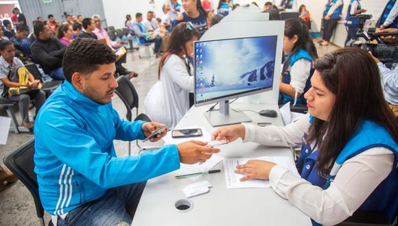 El último día de 2018, un total de 3,605 ciudadanos venezolanos iniciaron la gestión para obtener su PTP. (Foto: Difusión)