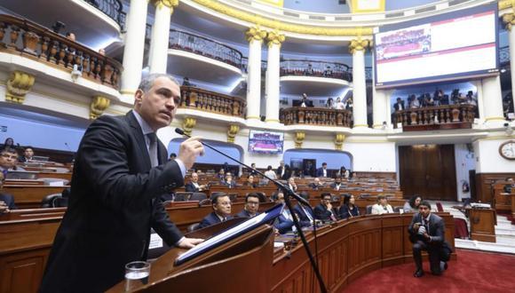 Salvador del Solar se presentará ante el pleno en sesión extraordinaria este jueves 5 de setiembre a las 09:30 horas. (Foto: GEC)