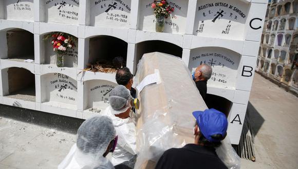 La cantidad de fallecidos por el COVID-19 aumentó este viernes. (Foto: Reuters)