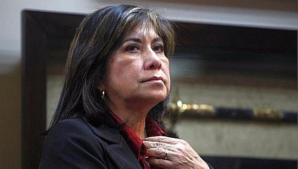 "Martha Chávez consideró que Vicente Zeballos debió haber ido de embajador a Bolivia por ""sus rasgos andinos"". (Foto: GEC)"