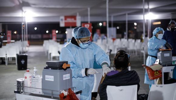 La vacunación contra el COVID-19 a nivel nacional avanza a buen ritmo. Foto: GEC