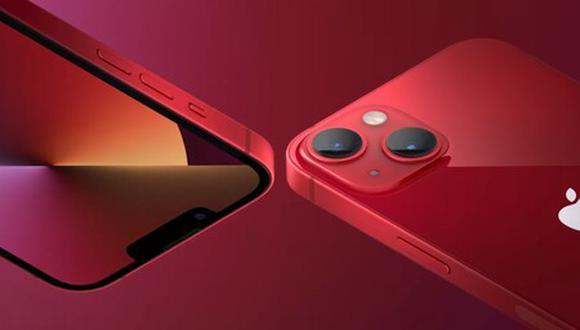 El nuevo iPhone 13 trae más y mejores características en rendimiento.   Foto: Apple
