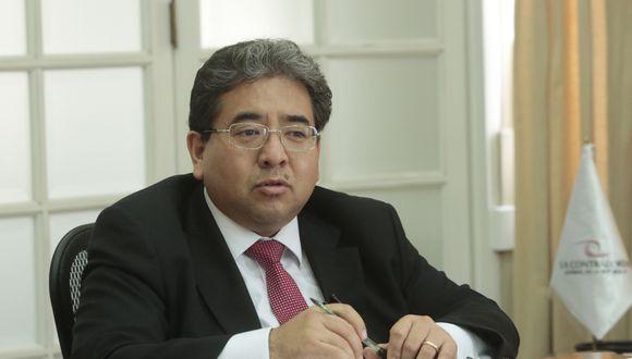 El contralor indicó que la primera acción es seleccionar a los rectores que formarán parte de la Comisión Especial. (Foto: GEC)