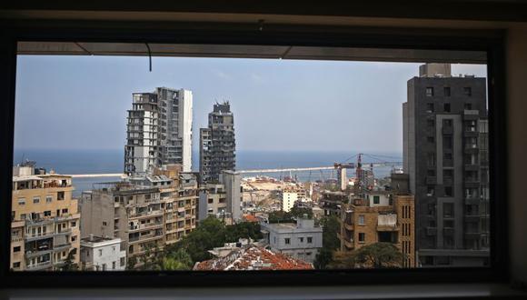 La explosión en Beirut. (Foto: AFP)