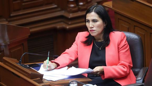 Flor Pablo, congresista electa del Partido Morado. (Foto: GEC)