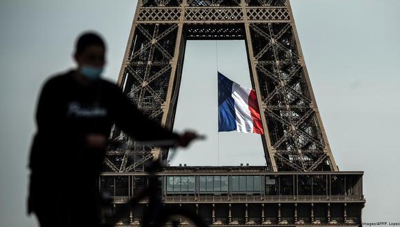 Como en otros países, los restaurantes en Francia han encontrado en el servicio a domicilio un salvavidas. Pero para muchos, lo que ganan con esto apenas les alcanza para mantener la cabeza fuera del agua. (Foto: AFP/ Getty)