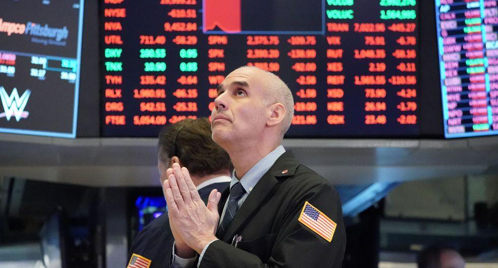 Wall Street operaba este viernes con volatilidad. (Foto: AFP)