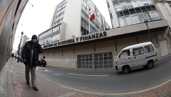 Ministerio de Economía y Finanzas (Foto: GEC)