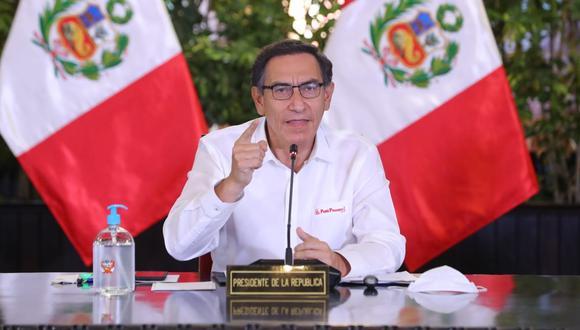 Presidente de la República, Martín Vizcarra (Foto: Presidencia)