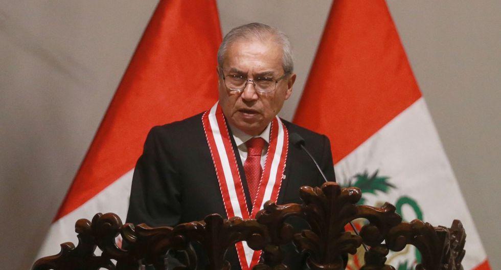Fiscal de la Nación, Pedro Chávarry, refrendó 58 nuevos cambios en fiscalías a nivel nacional. (Foto: USI)