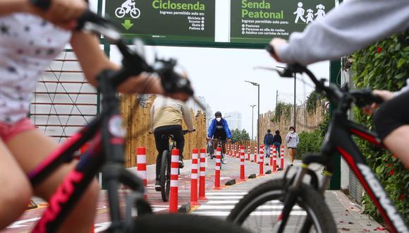 Las bicicletas ahora tienen un mayor uso. (Foto: Alessandro Currarino | GEC)