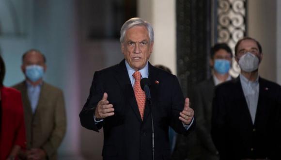 """""""Tenga mucha confianza en que la gente va a votar bien. Esperamos un buen resultado para el país y para Chile Vamos"""", expresó el gobernante. (Foto: Getty Images)"""