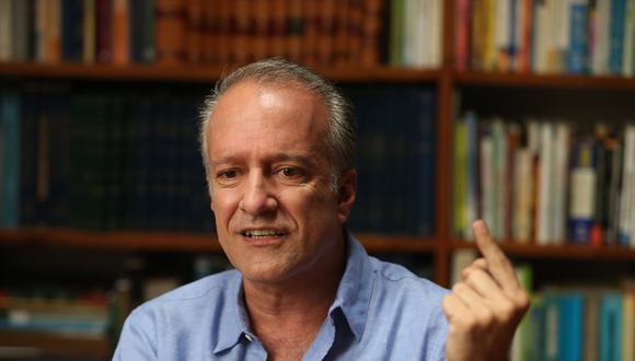 Nano Guerra García indicó que la próxima semana estaría terminado el plan de gobierno de Fuerza Popular para los comicios del 2021. (Foto: Luis Centurión)