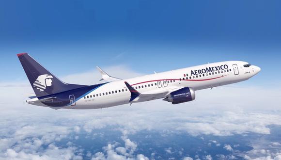 La principal empresa aérea de México tuvo una caída del 54.2% en el transporte de pasajeros en el 2020. (Foto: Aeroméxico)