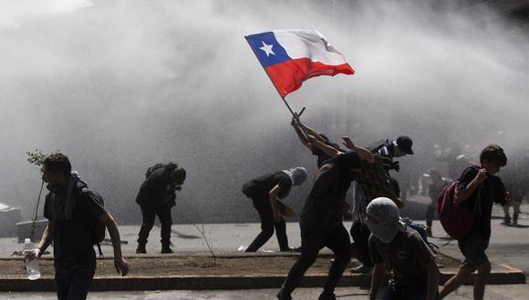 Una serie de protestas se han desatado en Chile, en contra del gobierno de Piñera. (Foto: AFP)