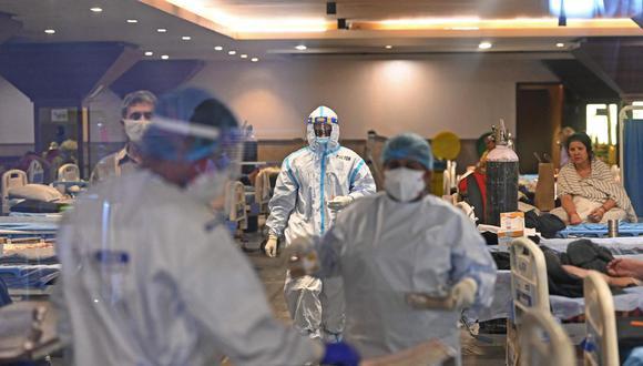 El mes pasado, el COVID-19 dejó más de 100,000 fallecidos en el país. (Foto: STR / AFP)